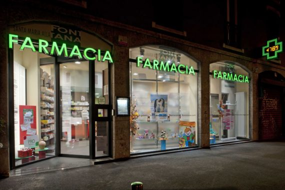 Late Night Pharmacies in Milan