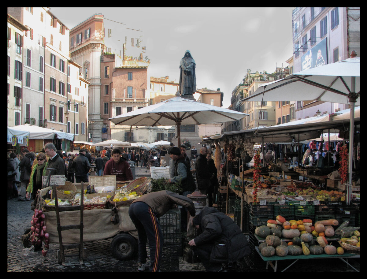Fresh Food in Rome